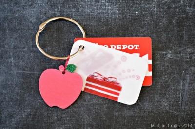 GIFT CARD ORGANIZER RING