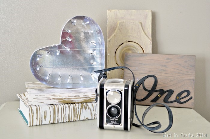 duck tape marquee heart