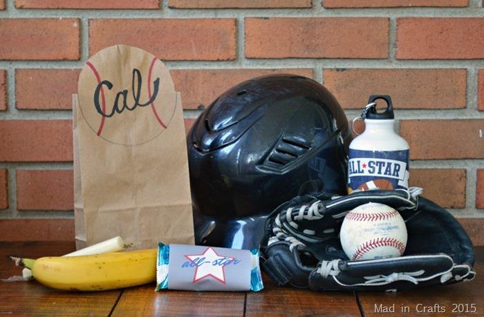 Baseball Snack Sack