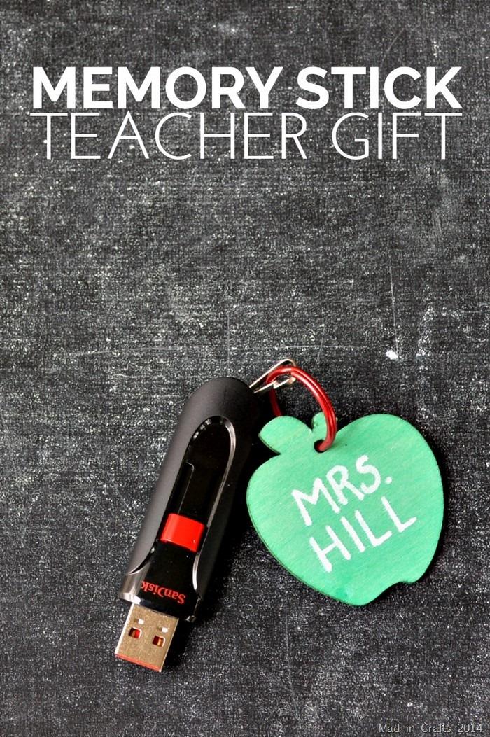 Memory Stick Teacher Gift