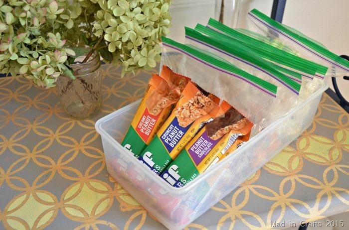 after school snack bin