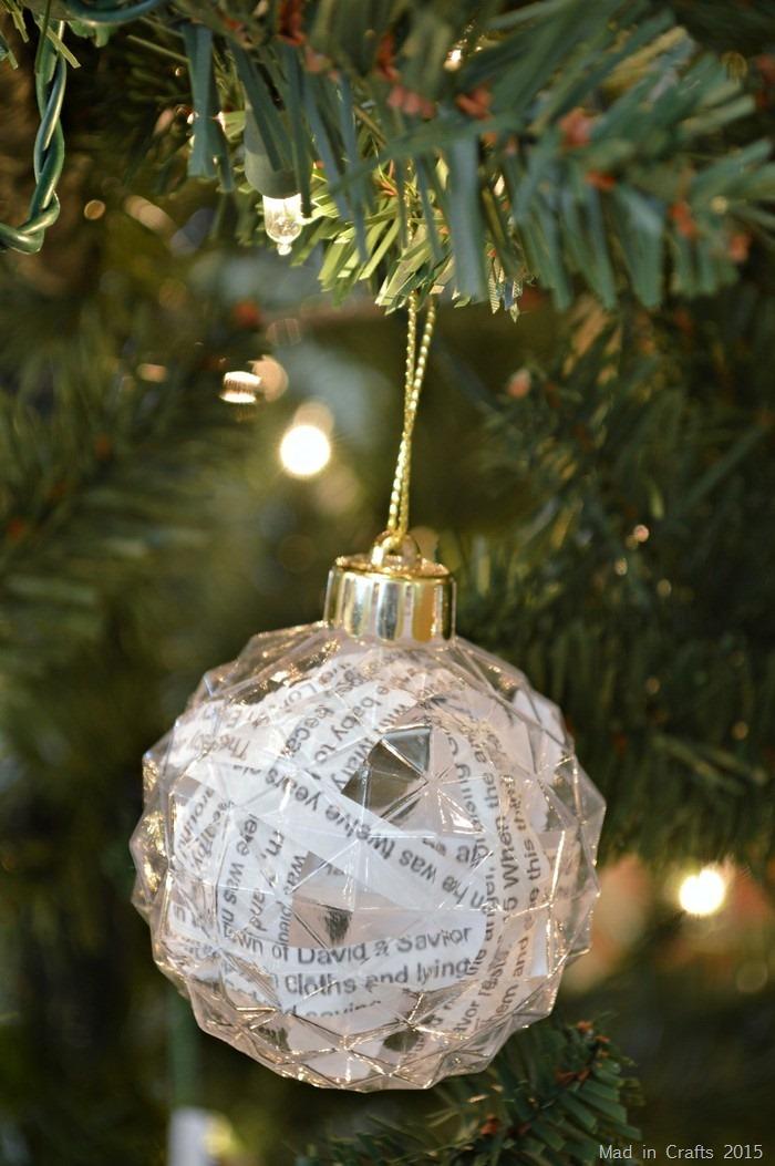 Bible Passage Ornaments