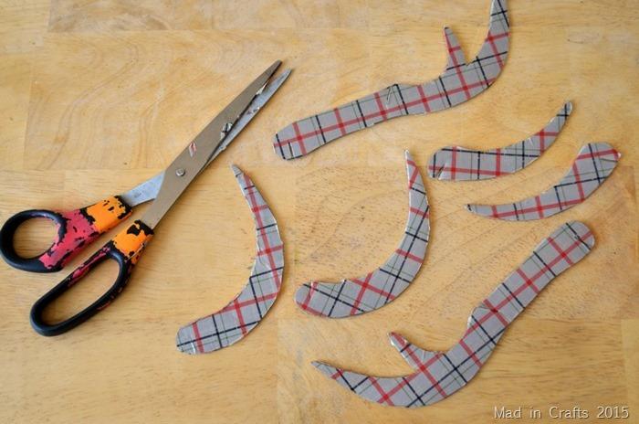 trim away excess tape