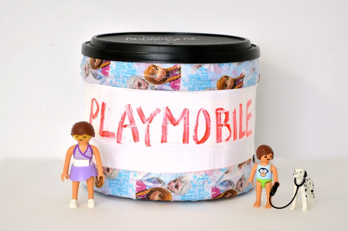 Coffee Container Toy Storage
