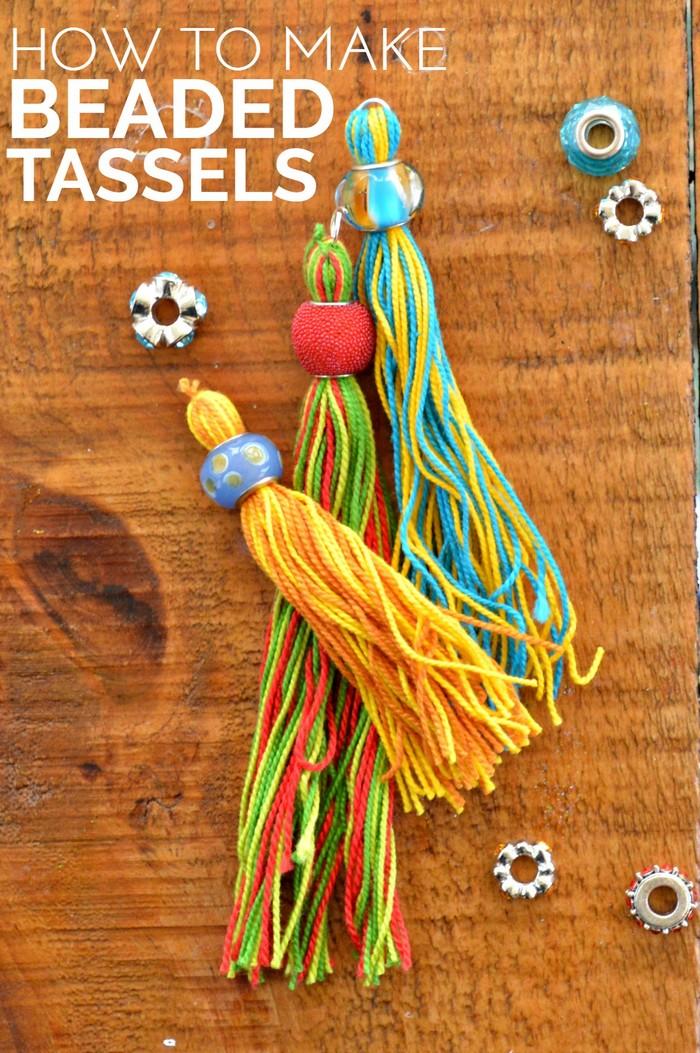 How to Make Beaded Tassels