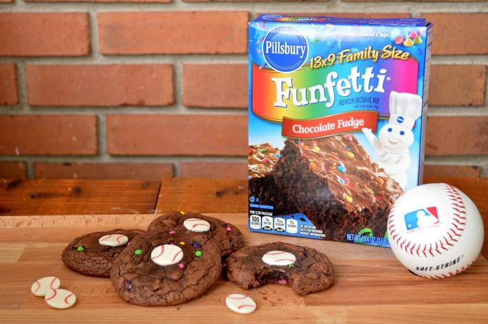 Baseball Brownie Cookie Recipe