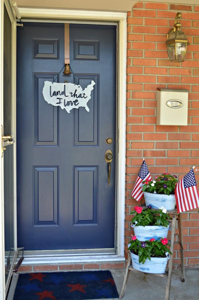 Americana Front Door