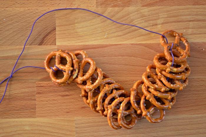 Stacked Pretzel Necklace