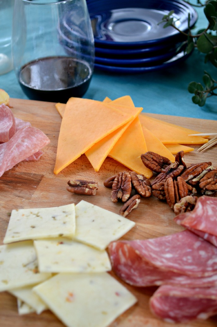 PRETEND YOU'RE FANCY BY SERVING CHARCUTERIE