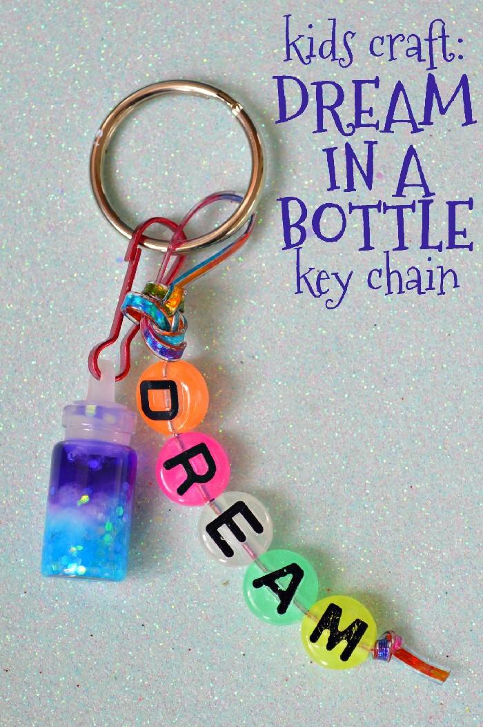 kids-craft-dream-bottle-key-chain