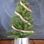 Turn A Galvanized Bucket Into A Mini Tree Stand Christmas Mad In Crafts