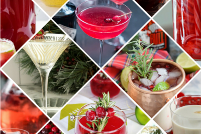 FESTIVE HOLIDAY COCKTAILS