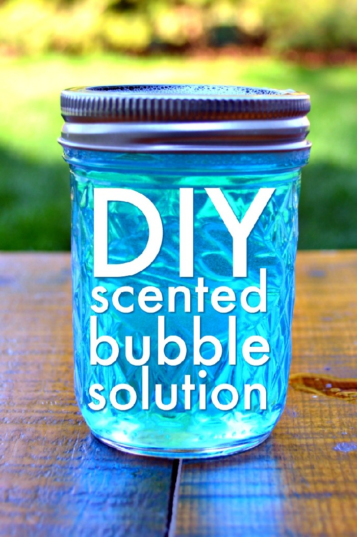 HOMEMADE SCENTED BUBBLES