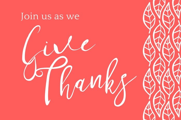 Give Thanks graphic