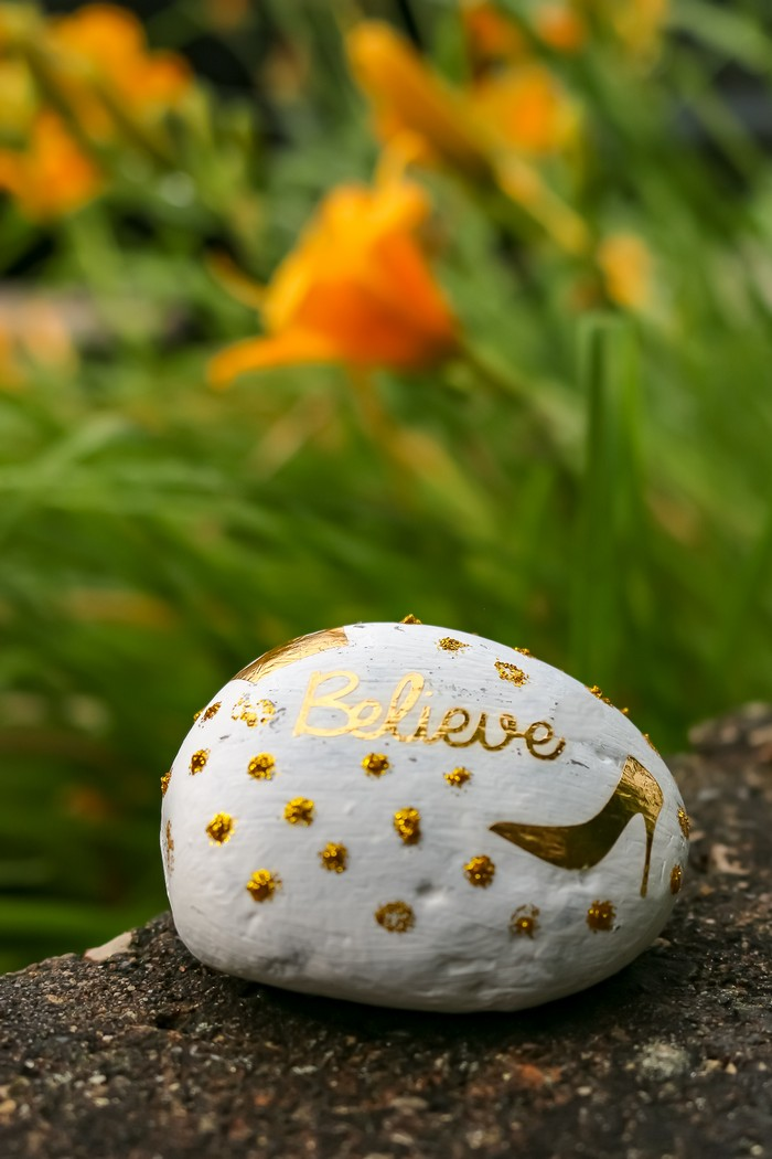 DOLLAR STORE ROCK PAINTING SUPPLIES