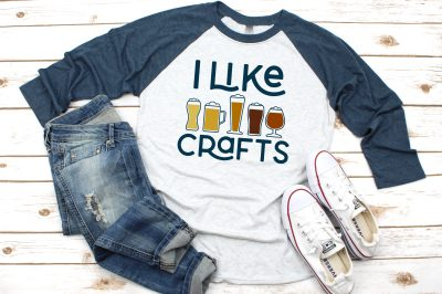 I like crafts beer shirt with jeans