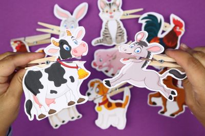 clothespin puppet printables