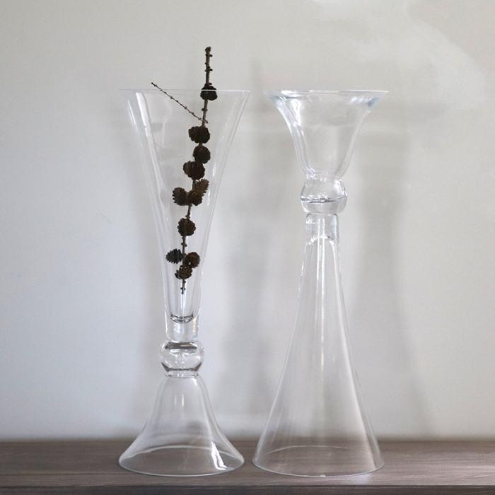 Aukštos stiklinės vazos nuoma