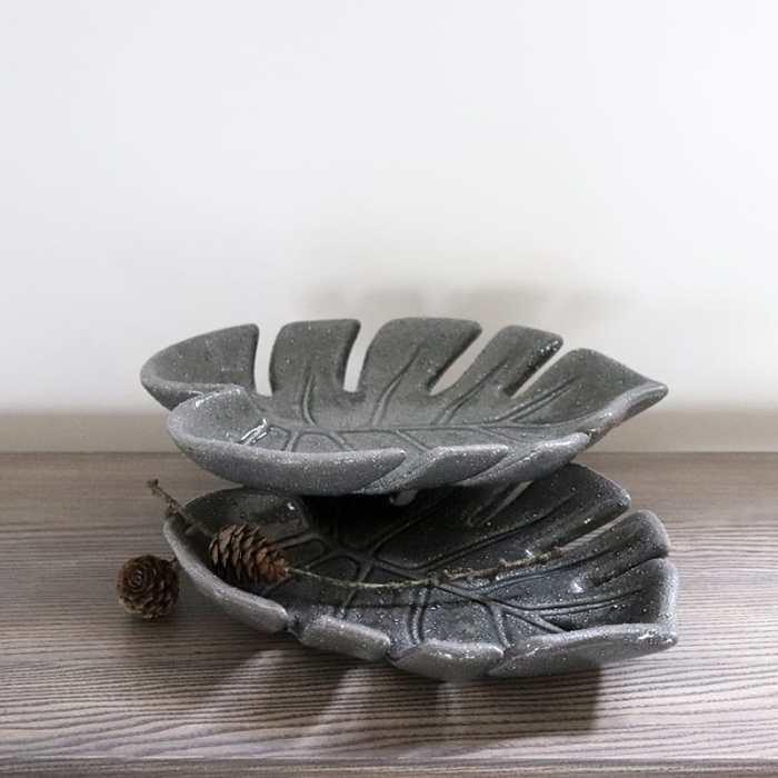 Monstera lapo formos dekoratyvios lėkštės nuoma