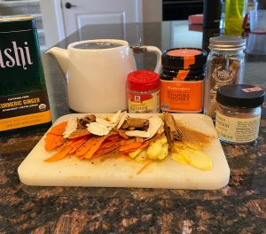Turmeric/Ginger infused tea Recipe