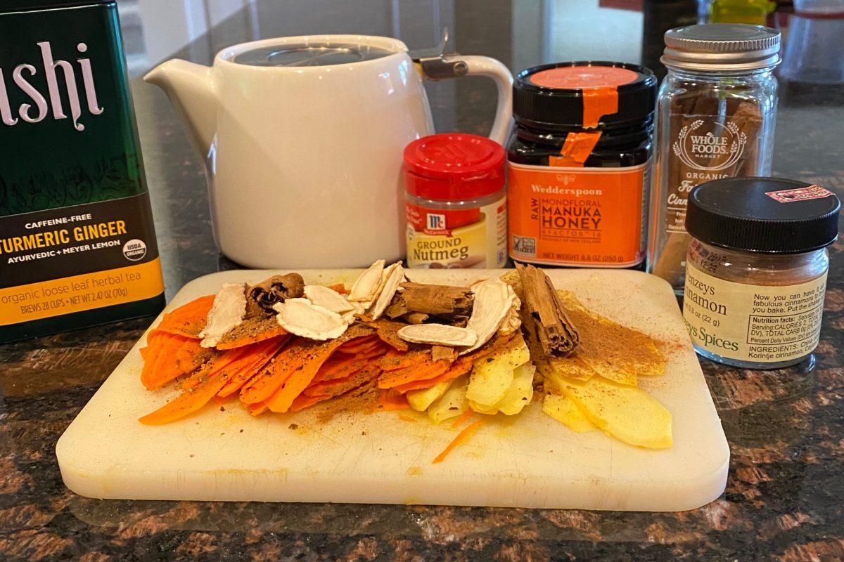 Turmeric/Ginger infused tea Recipe