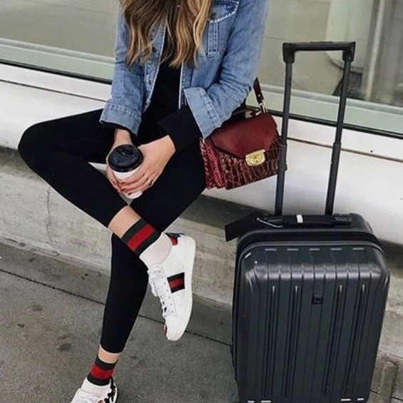 airplane, travel, outfit, comfy