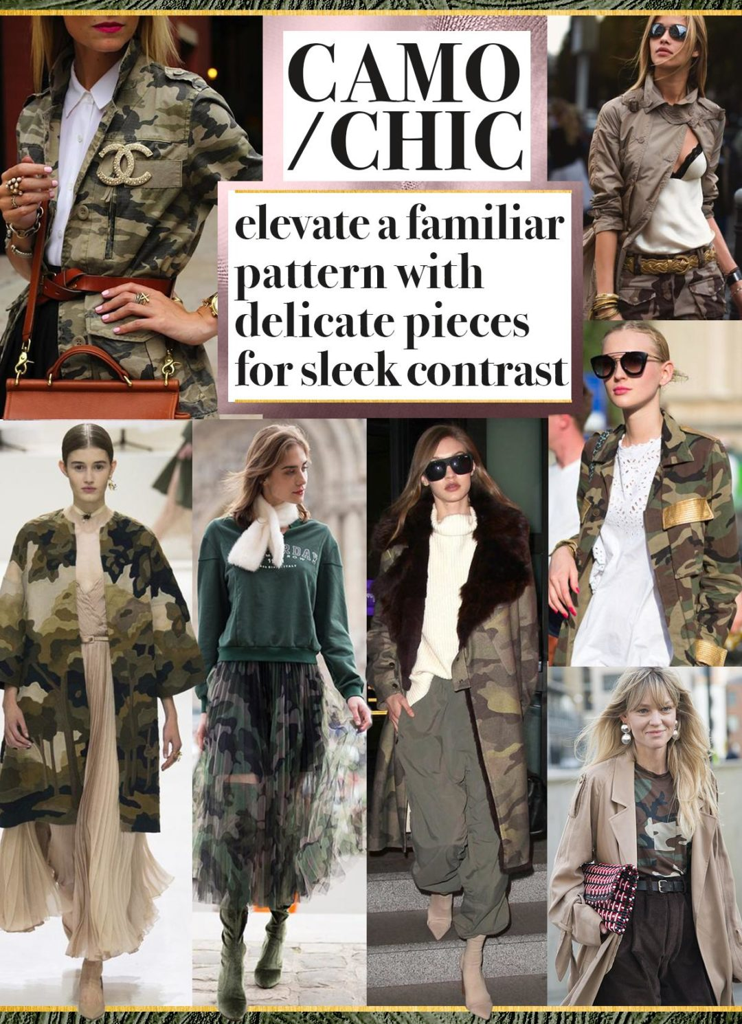 camo, print, camouflage, how, to, wear