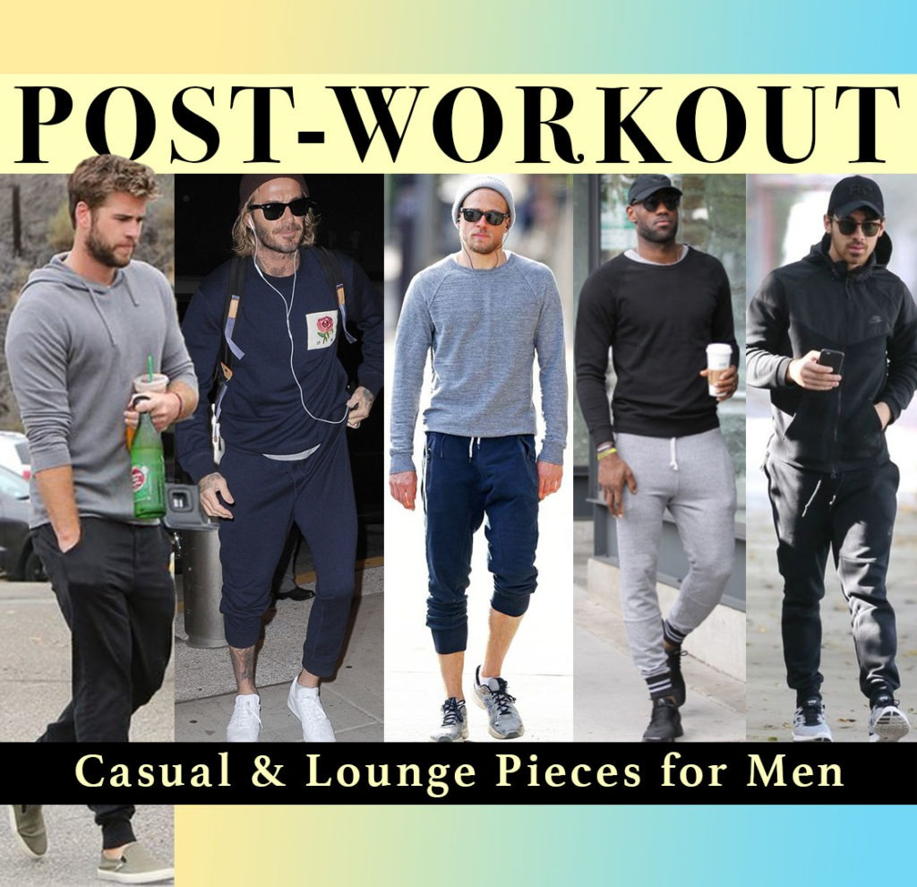 mens, menswear, athleisure, man, celeb, celebrity, style, sweats, sweatpants, athletic, outfit, tennis, shoes, sneakers, workout, post, blog