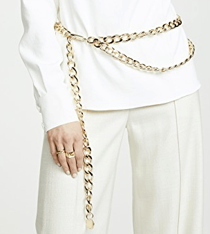 chain link belts jewelry accessories trending