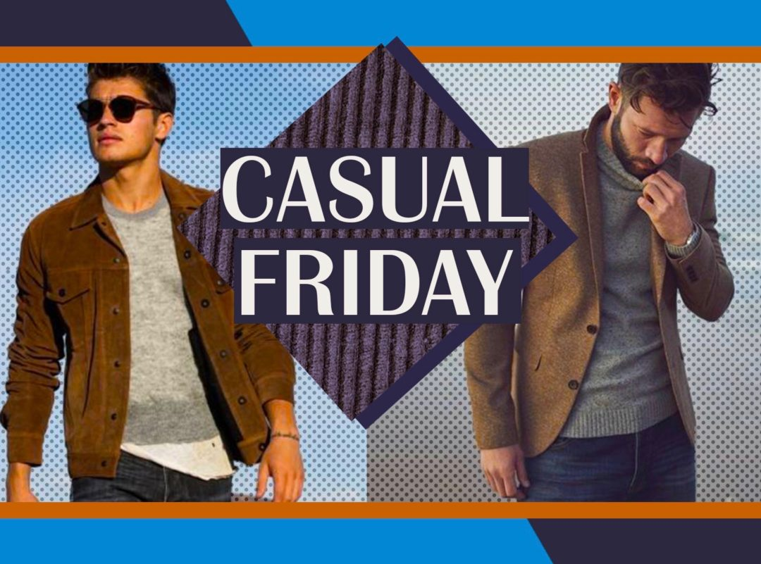 casual friday work outfits for men