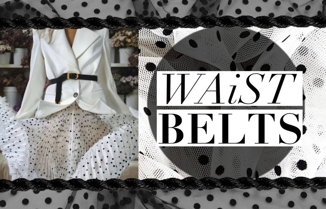 waist belt fashion trend style