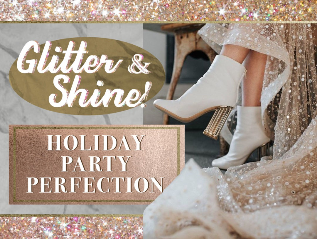 glitter outfits for holiday parties