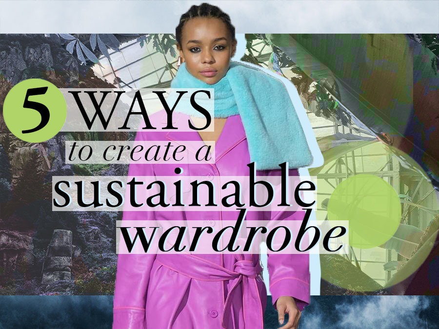 sustainable fashion wardrobe