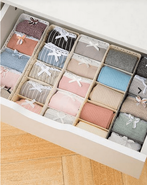 organize drawers