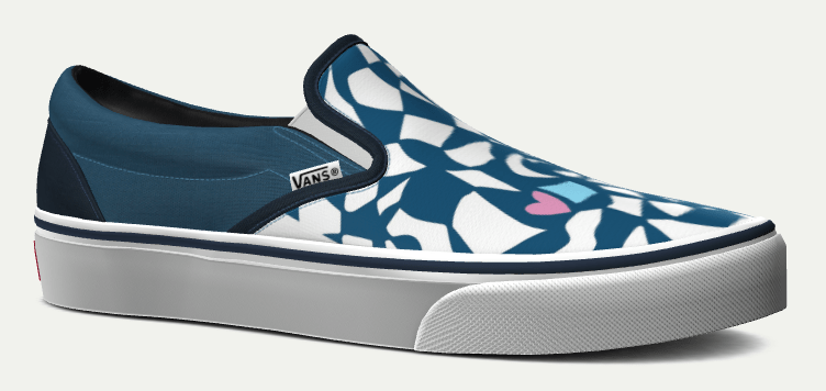 colorful custom vans for men and women