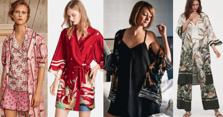 floral kimonos for women
