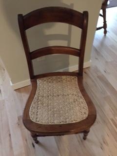 Custom Chair Caning