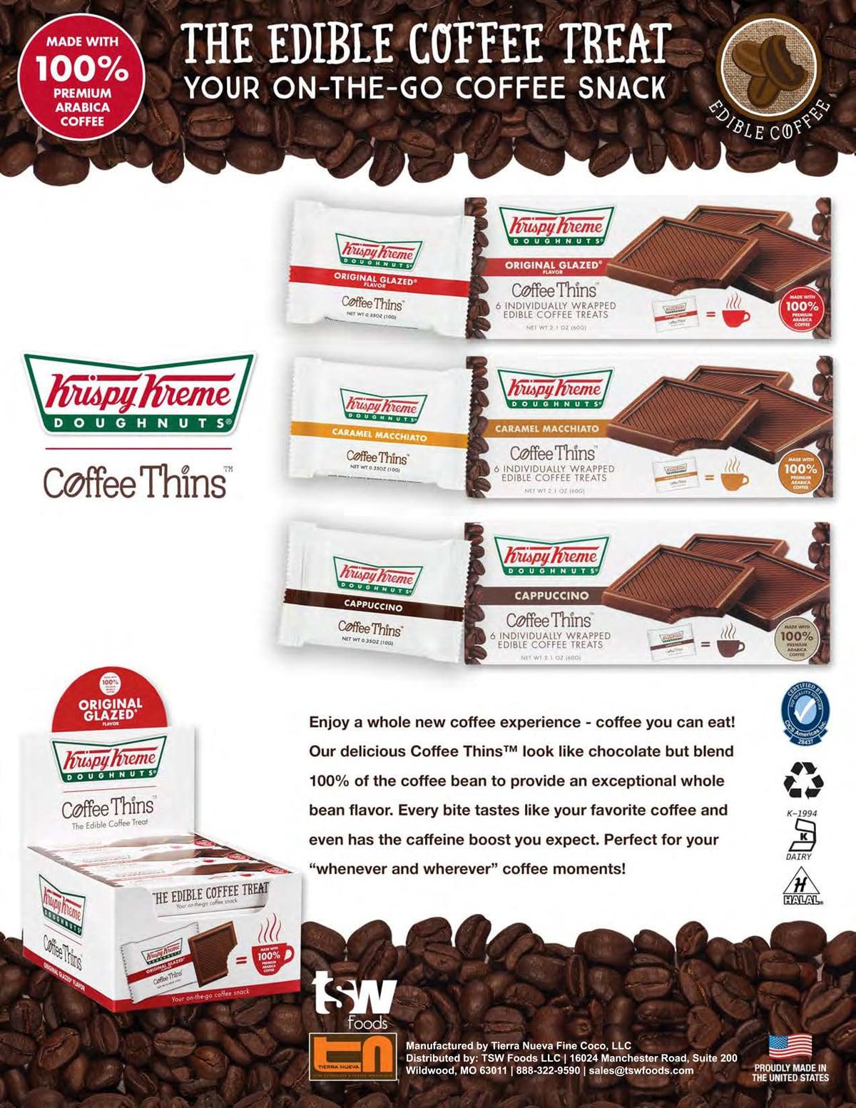 Krispy Kreme Sell Sheet