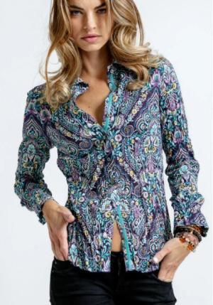 Basilicatta Button Down Shirt - ShopMadisonbelle
