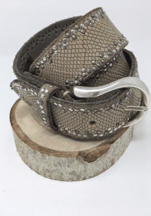 Python Studded Border - Grey - ShopMadisonbelle