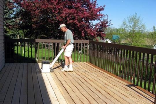 deck painting deck refinishing