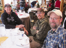 Lto R Shawn Payne, Mike Mullenax of Payne Const. Madison Co. Technician Jerry Boyd