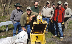 042713 Rt.13S & Chitt Creek Cleanup