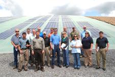 Solar cover tour