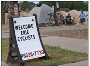 Welcome Cyclists