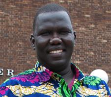 Gabriel Bol Deng, '04, 2014 Alumni Face