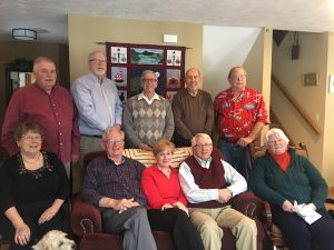 CTS Board members & Executive Director, Dr. Thomas Curnow from left: Dave Barker, Bob Kleppang, Dr. Thomas Curnow, Fred Trumbach, Bill Faroo, Cindy Beckley, Reverend Jim Ulrich, Sarah Frey, Ray Schoeberleng, and MaryEllen Denio.