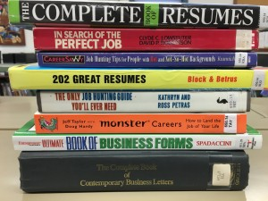 resume books