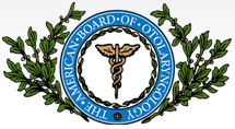 Logo for The American Board of Otolaryngology