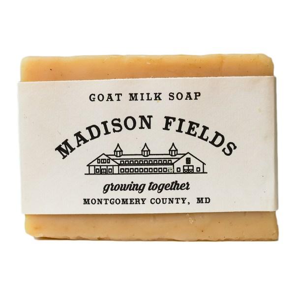 Honey Oatmeal Goat Milk Soap by Madison Fields